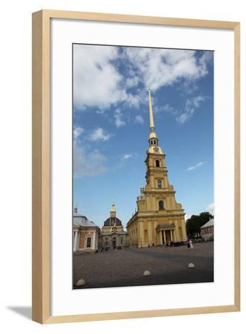 Peter and Paul Cathedral, St Petersburg, Russia, 2011-Sheldon Marshall-Framed Art Print