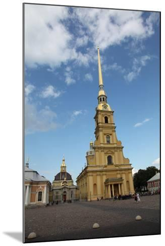 Peter and Paul Cathedral, St Petersburg, Russia, 2011-Sheldon Marshall-Mounted Photographic Print
