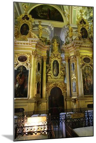 Iconostasis, Peter and Paul Cathedral, St Petersburg, Russia, 2011-Sheldon Marshall-Mounted Photographic Print