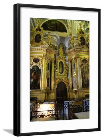 Iconostasis, Peter and Paul Cathedral, St Petersburg, Russia, 2011-Sheldon Marshall-Framed Art Print