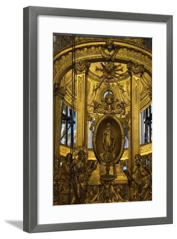 Interior Detail, Peter and Paul Cathedral, St Petersburg, Russia, 2011-Sheldon Marshall-Framed Art Print