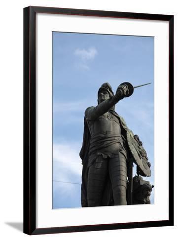 Suvorov Monument, St Petersburg, Russia, 2011-Sheldon Marshall-Framed Art Print