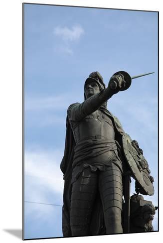Suvorov Monument, St Petersburg, Russia, 2011-Sheldon Marshall-Mounted Photographic Print