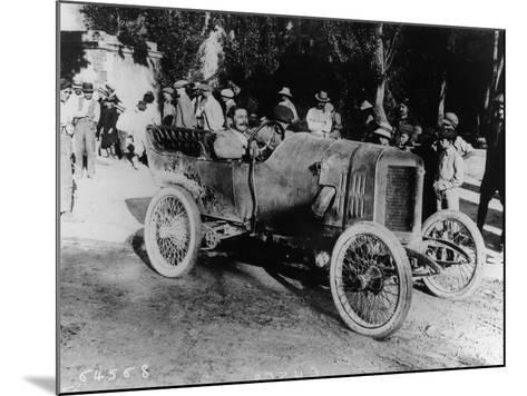 One of the Competitors at the Mont Ventoux Hill Climb, Provence, France, 1911--Mounted Photographic Print