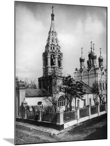 Church of the Transfiguration of Jesus, Peski, Moscow, Russia, 1881- Scherer Nabholz & Co-Mounted Photographic Print