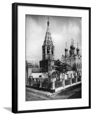 Church of the Transfiguration of Jesus, Peski, Moscow, Russia, 1881- Scherer Nabholz & Co-Framed Art Print