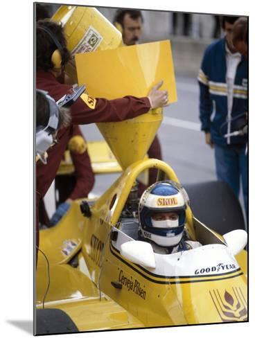 Keke Rosberg in a Fittipaldi-Cosworth F7, British Grand Prix, Brands Hatch, 1980--Mounted Photographic Print