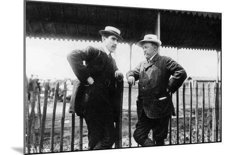 Louis Renault and Henri Brasier, 1908--Mounted Photographic Print
