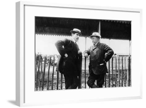 Louis Renault and Henri Brasier, 1908--Framed Art Print