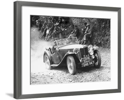 1938 Mg Ta Midget, (C1938)--Framed Art Print