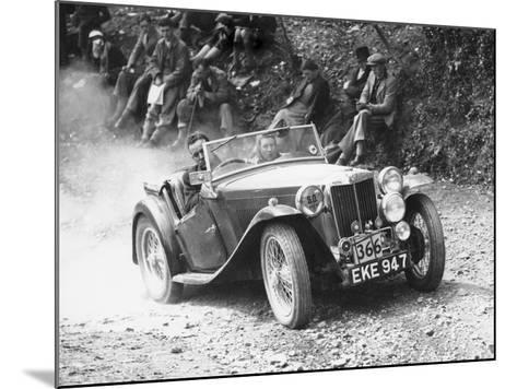1938 Mg Ta Midget, (C1938)--Mounted Photographic Print