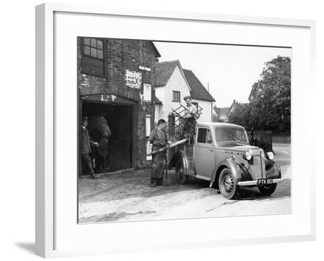 Bedford 6Cwt Utility Wagon, 1938--Framed Art Print