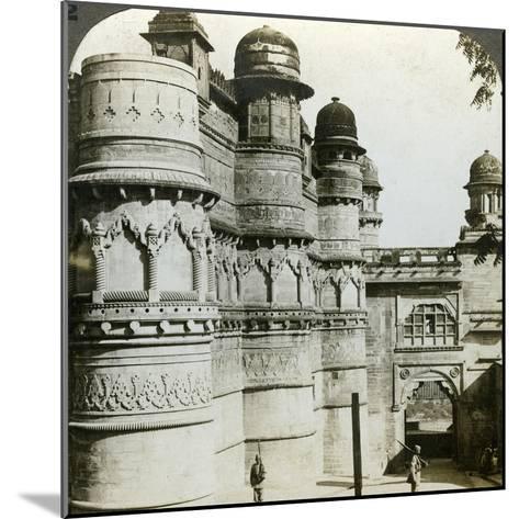 Man Singh Palace, Gwalior, Madhya Pradesh, India, C1900s-Underwood & Underwood-Mounted Photographic Print