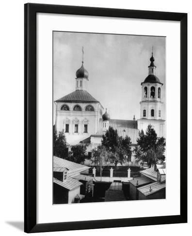 Church of the Entry of the Most Holy Theotokos into the Temple, Barashi, Moscow, Russia, 1881- Scherer Nabholz & Co-Framed Art Print