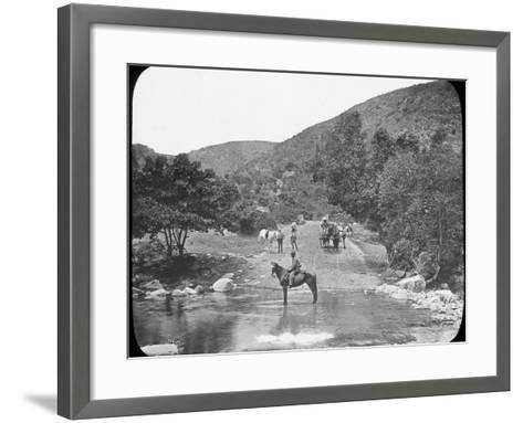 Van Stadens Pass, South Africa, C1890--Framed Art Print