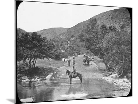 Van Stadens Pass, South Africa, C1890--Mounted Photographic Print