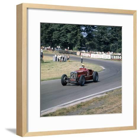 1926 Sunbeam Tiger--Framed Art Print