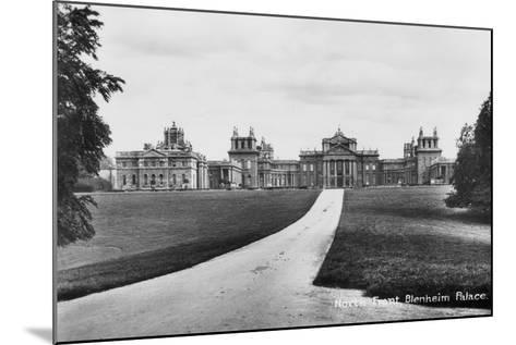 Blenheim Palace, Woodstock, Oxfordshire, Early 20th Century--Mounted Photographic Print