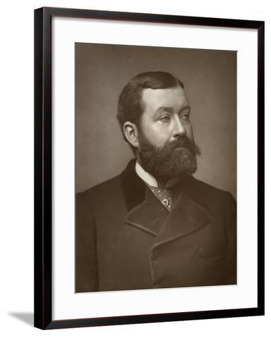 George Robert Sims, British Journalist, Poet, Dramatist and Novelist, 1884--Framed Art Print
