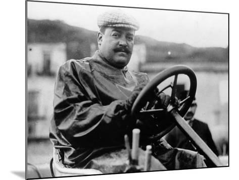 Vincenzo Lancia, (1900s)--Mounted Photographic Print