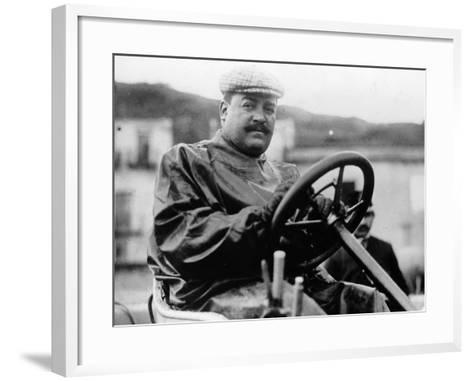 Vincenzo Lancia, (1900s)--Framed Art Print