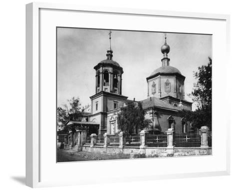Church of the Life-Giving Trinity, Troitskaya, Moscow, Russia, 1882- Scherer Nabholz & Co-Framed Art Print