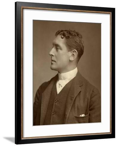 Hb Conway, British Actor, 1888-Window & Grove-Framed Art Print