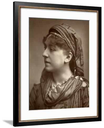 Amy Roselle, British Actress, 1884--Framed Art Print
