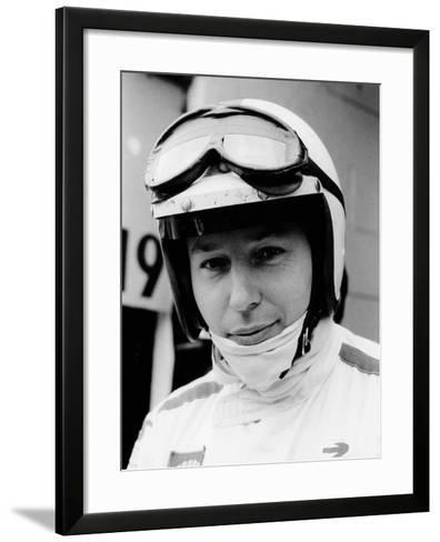 John Surtees at the Belgian Grand Prix, 1968--Framed Art Print