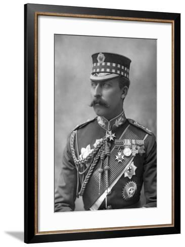 Prince Arthur (1850-194), Duke of Connaught, 1890-W&d Downey-Framed Art Print