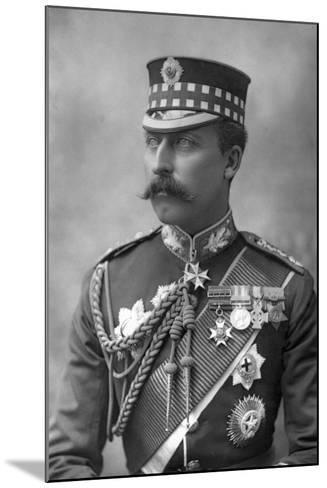 Prince Arthur (1850-194), Duke of Connaught, 1890-W&d Downey-Mounted Photographic Print