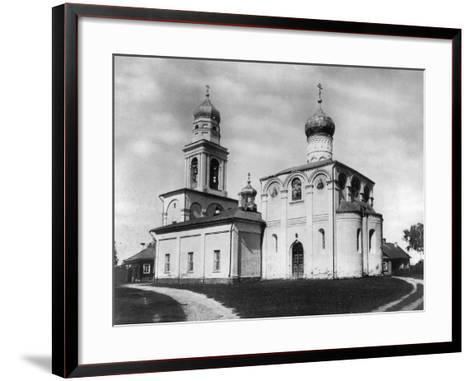 Church of the Nativity of the Most Holy Theotokos on Simonovo, Moscow, Russia, 1882- Scherer Nabholz & Co-Framed Art Print