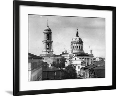 Church of St Martin the Confessor, Pope of Rome, Alexeevskaya, Moscow, Russia, 1882- Scherer Nabholz & Co-Framed Art Print