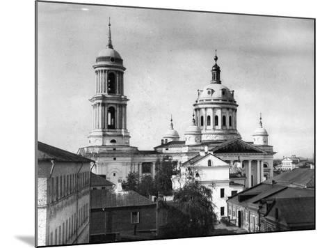 Church of St Martin the Confessor, Pope of Rome, Alexeevskaya, Moscow, Russia, 1882- Scherer Nabholz & Co-Mounted Photographic Print
