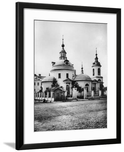 Church of the Holy Martyrs Cosmas and Damian, Pokrovka Street, Moscow, Russia, 1881- Scherer Nabholz & Co-Framed Art Print