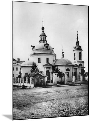 Church of the Holy Martyrs Cosmas and Damian, Pokrovka Street, Moscow, Russia, 1881- Scherer Nabholz & Co-Mounted Photographic Print