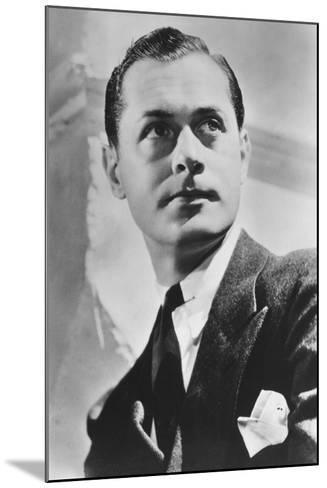Robert Montgomery (1904-198), American Actor and Director, 20th Century--Mounted Photographic Print