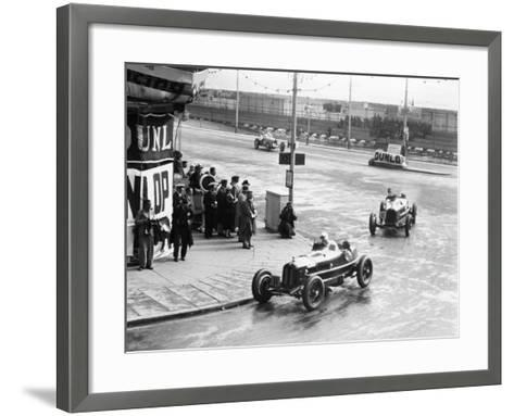 Brian Lewis in an Alfa Romeo Monza in the Mannin Moar Race, Douglas, Isle of Man, 1933--Framed Art Print