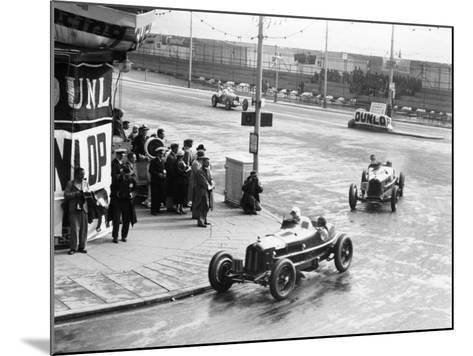 Brian Lewis in an Alfa Romeo Monza in the Mannin Moar Race, Douglas, Isle of Man, 1933--Mounted Photographic Print