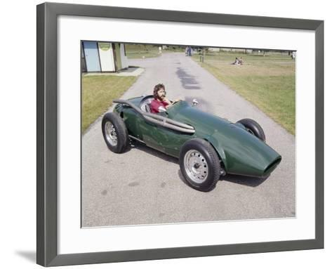 Eric Clapton in a 1955 Connaught, (C1970S)--Framed Art Print