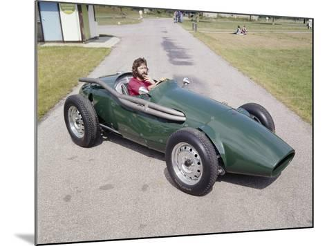 Eric Clapton in a 1955 Connaught, (C1970S)--Mounted Photographic Print