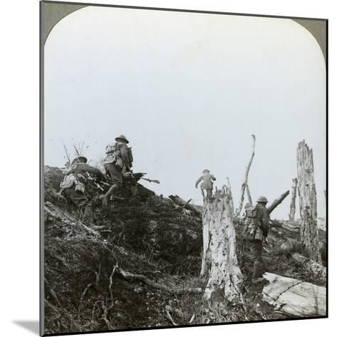 Assault in Trones Wood, Somme, France, World War I, 1916--Mounted Photographic Print