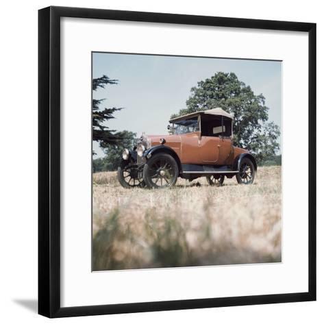 1923 Calcott 11.9Hp Car--Framed Art Print