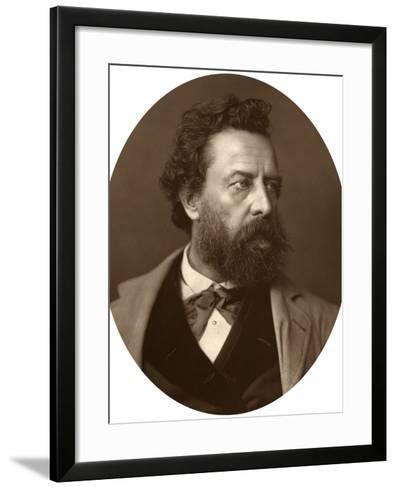 William Hepworth Dixon, Historian and Traveller, 1881--Framed Art Print