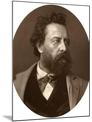 William Hepworth Dixon, Historian and Traveller, 1881--Mounted Photographic Print