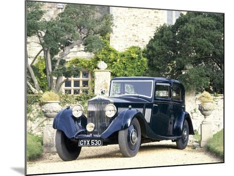 A 1935 Rolls-Royce 20/25--Mounted Photographic Print