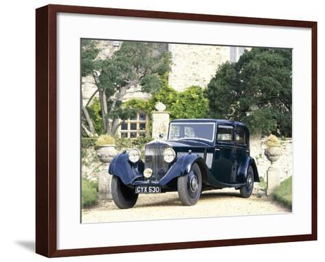 A 1935 Rolls-Royce 20/25--Framed Art Print