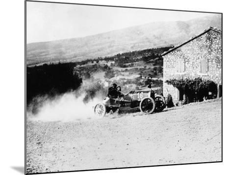 A Rolland-Pilain During the Mont Ventoux Hill Climb, Provence, France, 1909--Mounted Photographic Print