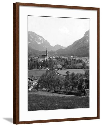 Bad Reichenhall and Grossgmain, Germany and Austria, C1900s-Wurthle & Sons-Framed Art Print
