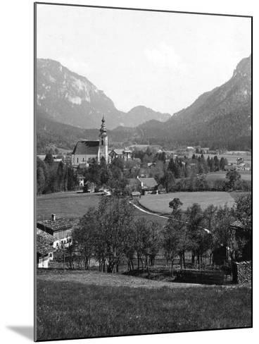 Bad Reichenhall and Grossgmain, Germany and Austria, C1900s-Wurthle & Sons-Mounted Photographic Print